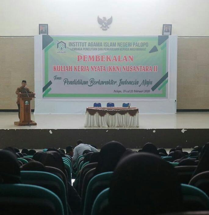IAIN Palopo Tuan Rumah KKN Nusantara II