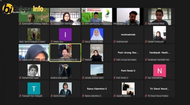 Ortom SCL SMAN 12 Luwu Sukses Gelar Webinar Lingkungan Hidup